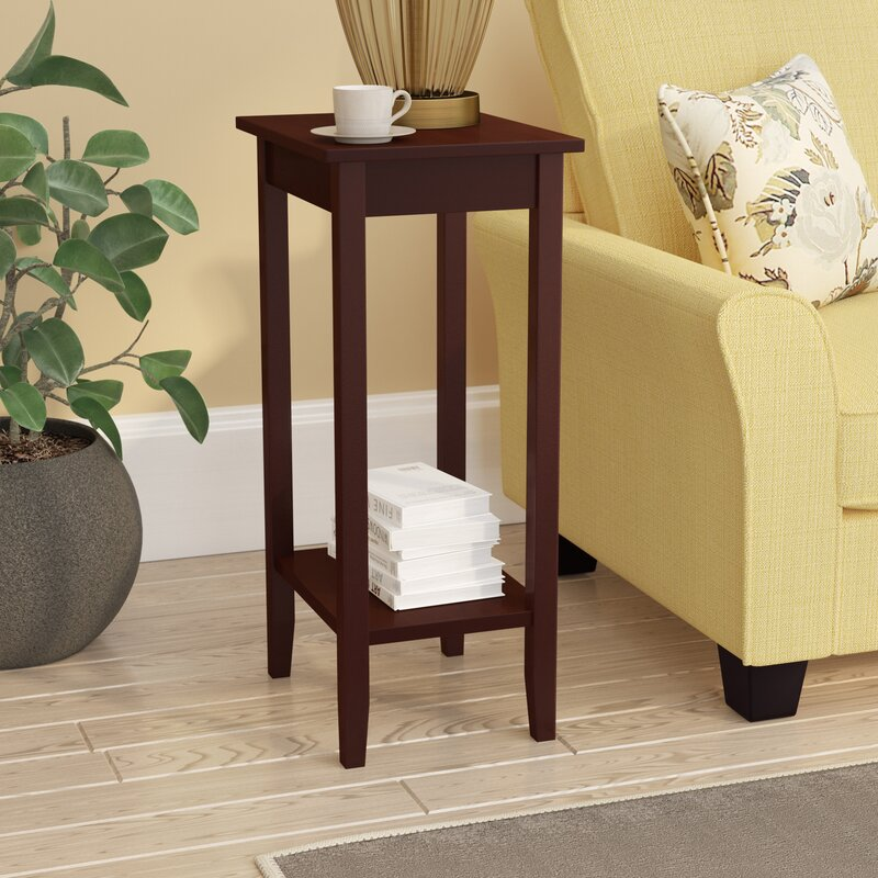 Superieur Noble Rosewood Tall End Table