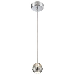 Cassandrea 1-Light Globe Pendant by Orren Ellis