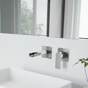wall mounted bathroom sink faucets you ll love rh wayfair com wall mounted bathroom faucet wall mount bathroom faucet