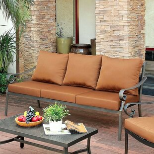 Villalobos Patio Sofa with Cushions
