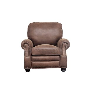 Darby Home Co Presnell Leather Manual Recliner