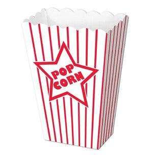 Awards Night Paper Popcorn Box