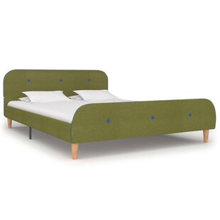 Owsley European Double (140 X 200cm) Upholstered Bed Frame By Mercury Row