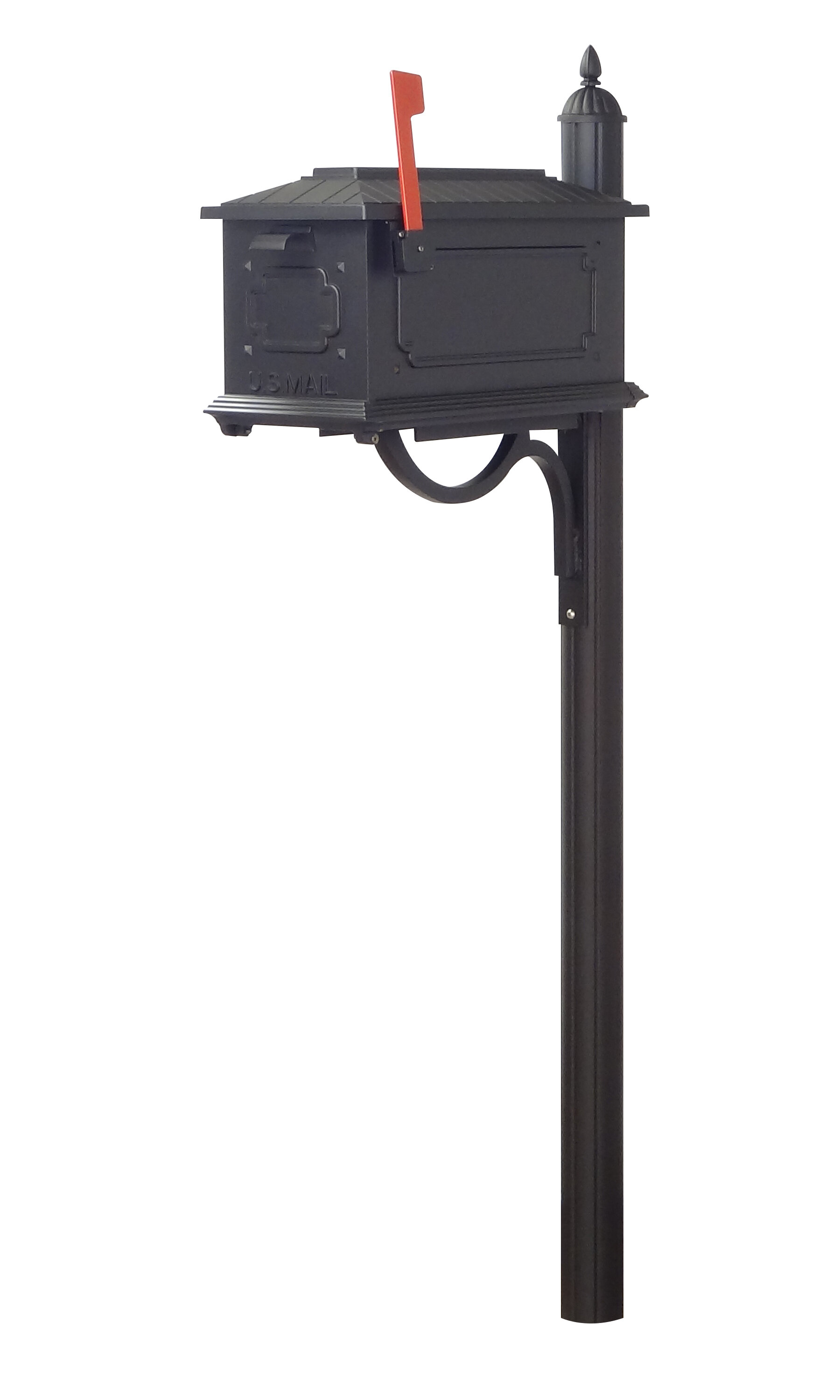 Special Lite Products Kingston Mailbox With Post Included Wayfair