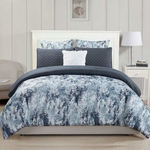 Faughil 6 Piece Reversible Comforter Set