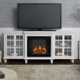 Marlowe TV Stand for TVs up to 70 with Fireplace