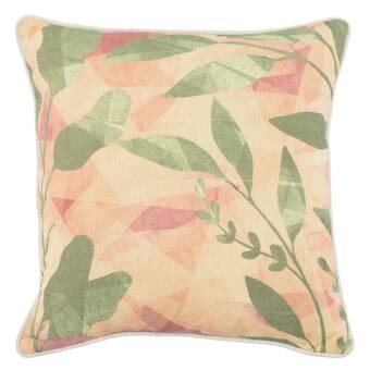 Winston Porter Dayville Tabitha 100 Cotton Floral 18 Throw Pillow Wayfair