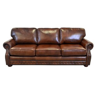 Affordable Price Middleton Leather Sofa by Westland and Birch Reviews (2019) & Buyer's Guide