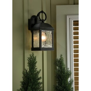 Affordable Burg 2-Light LED Outdoor Wall Lantern By Darby Home Co