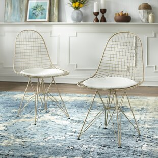 Merrie Wire Upholstered Dining Chair (Set of 2)