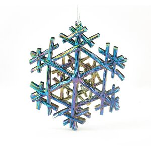 Snowflake Shaped Ornament (Set of 4)