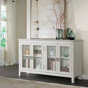 Jovan Four Door Mesh Front Sideboard Highland Dunes