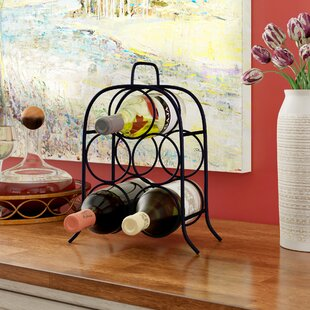 Leeland 5 Bottle Tabletop Wine Rack by Wi..