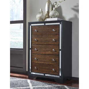 Orren Ellis Landrum 5 Drawer Chest