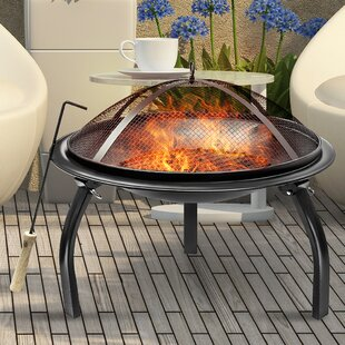 Sorbus Steel Charcoal Fire Pit