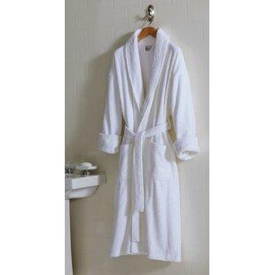 3d4dd804e6 Terry Shawl Collar 100% Cotton Terry Cloth Bathrobe