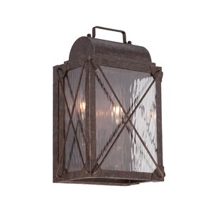 Price comparison Colfax 2-Light Outdoor Wall Lantern By Designers Fountain