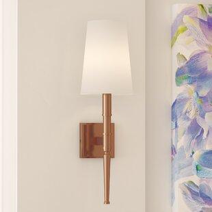 Buy luxury Quinlan 1-Light Wallchiere By Latitude Run