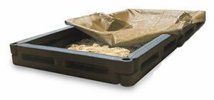 4' Rectangular Sandbox with Cover Action Play Systems