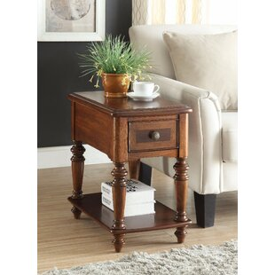 Stallman End Table with Storage
