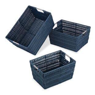Searching for Rattique 3 Piece Basket Set By Whitmor, Inc