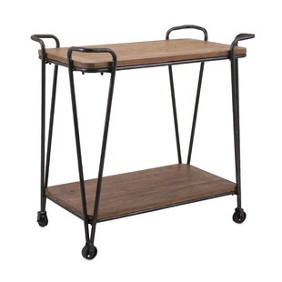 Cottrell Wood and Iron Table by Brayden Studio