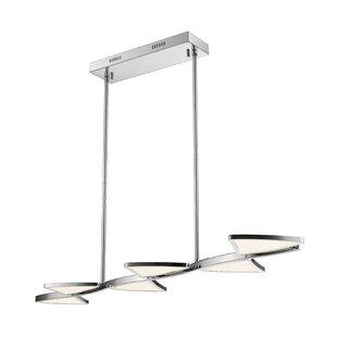 Orren Ellis Keli 6-Light LED Pendant