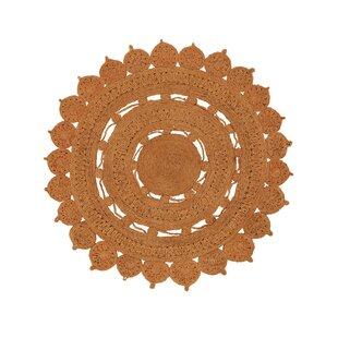 Samsara Handwoven Flatweave Orange Rug by benuta