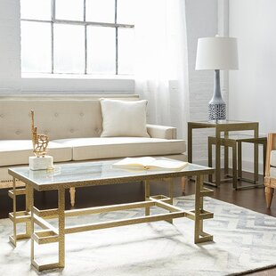 Plano 3 Piece Coffee Table Set