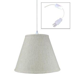 Winston Porter Shyanne 1-Light Cone Pendant