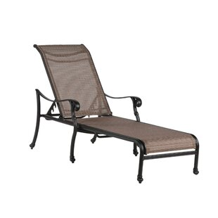 Germano Reclining Chaise Lounge with Cushion
