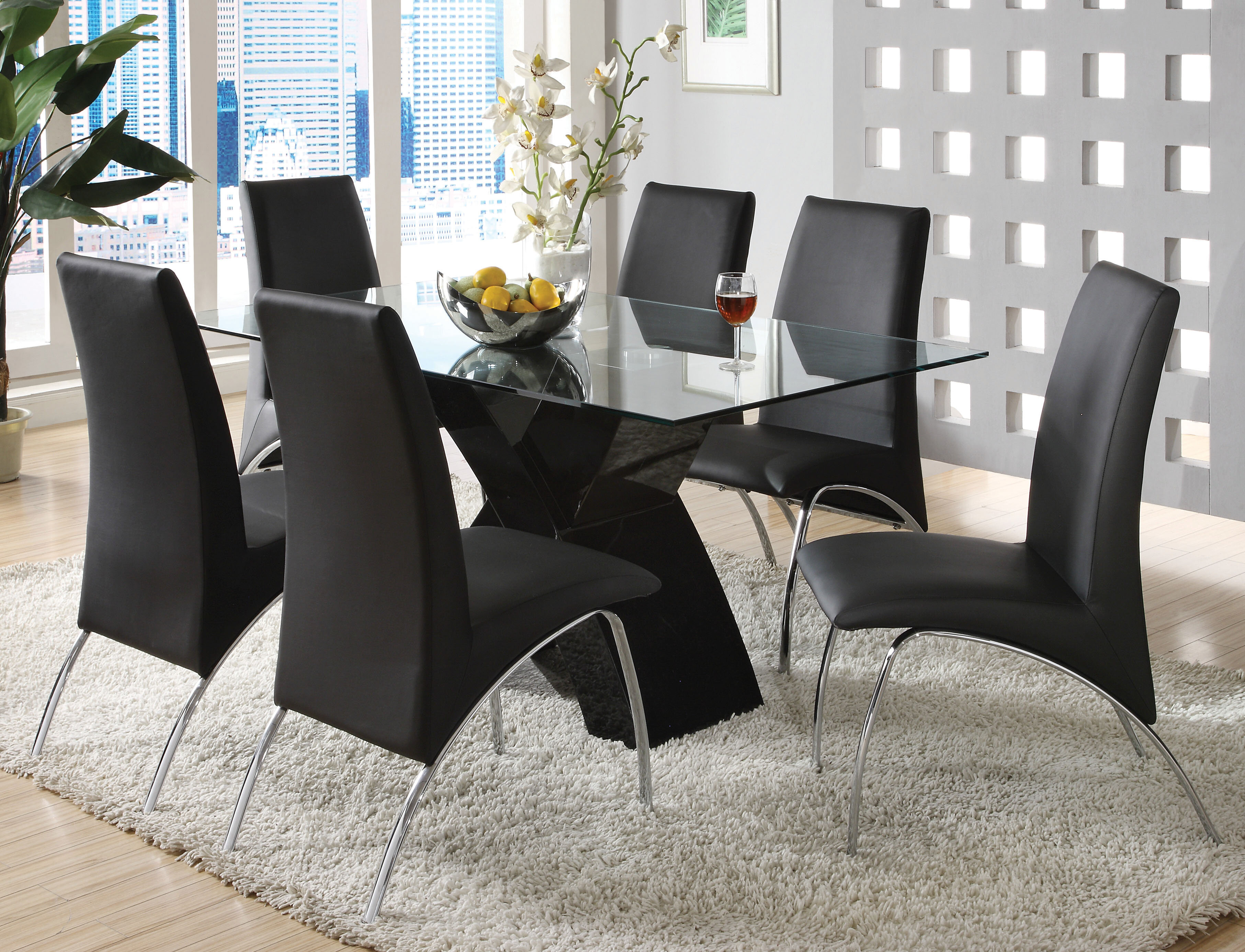Glass Kitchen Dining Room Table Sets You Ll Love In 2020 Wayfair