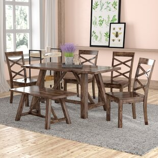 Bailee 6 Piece Dining Set Laurel Foundry Modern Farmhouse