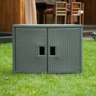 MSPA USA Spa Wicker Deck Box