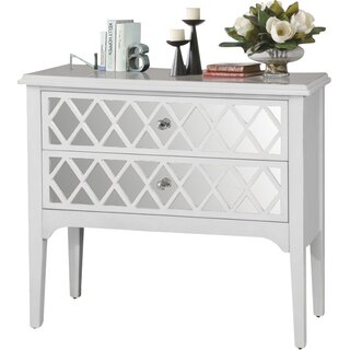 2 Drawer Wooden Accent Chest by Wildon Home๏ฟฝ SKU:ED460407 Details