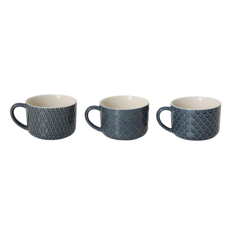 Baran 3 Piece Coffee Mug Set Joss Main