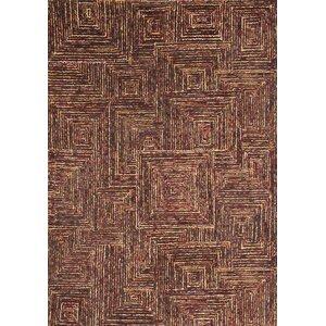 Lifestyle Tipton Hand Tufted Wool Dark Brown Area Rug