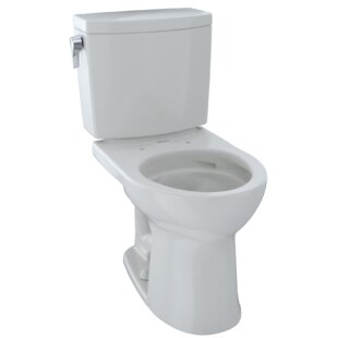 Toto Drake® II 1 GPF Round Two-Piece Toilet