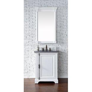 Kaycee 26 Single Cottage White Bathroom Vanity Set by Greyleigh