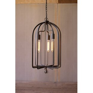 Gracie Oaks Greenland 3-Light Lantern Pendant
