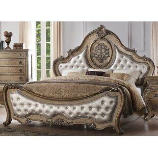 Astoria Grand Stultz Upholstered Panel Bed