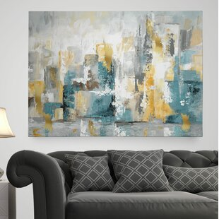 Merveilleux U0027City Views Iu0027 Painting Print On Wrapped Canvas