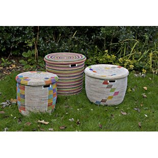 3 Piece Laundry Basket Set By Latitude Vive