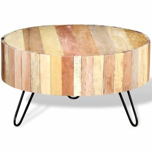 Reginia Solid Reclaimed Wood Coffee Table By Norden Home