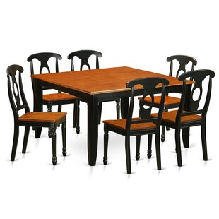 Pilning Modern 7 Piece Dining Set August Grove