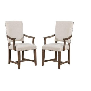 Steel Upholstered Dining Chair (Set of 2) Gracie Oaks