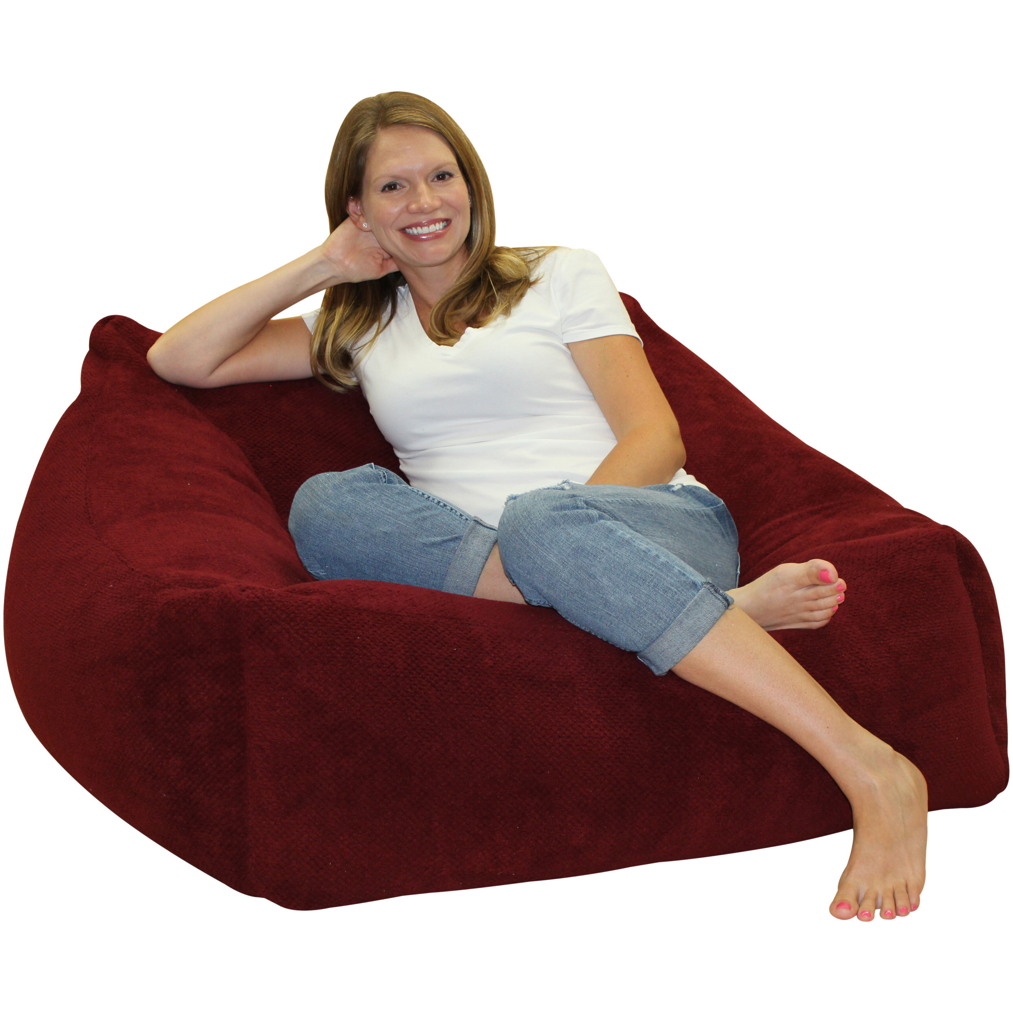Sensational Bean Bag Chair Squirreltailoven Fun Painted Chair Ideas Images Squirreltailovenorg