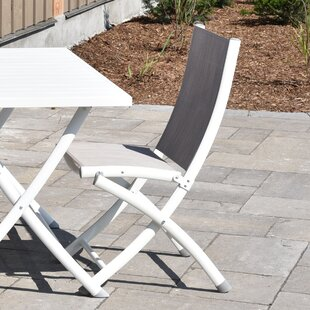 Bon Gleason Aluminum Folding Sling Chair (Set Of 2)
