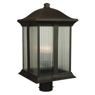 Bargain Oakhill Outdoor 3-Light Post Light By Charlton Home