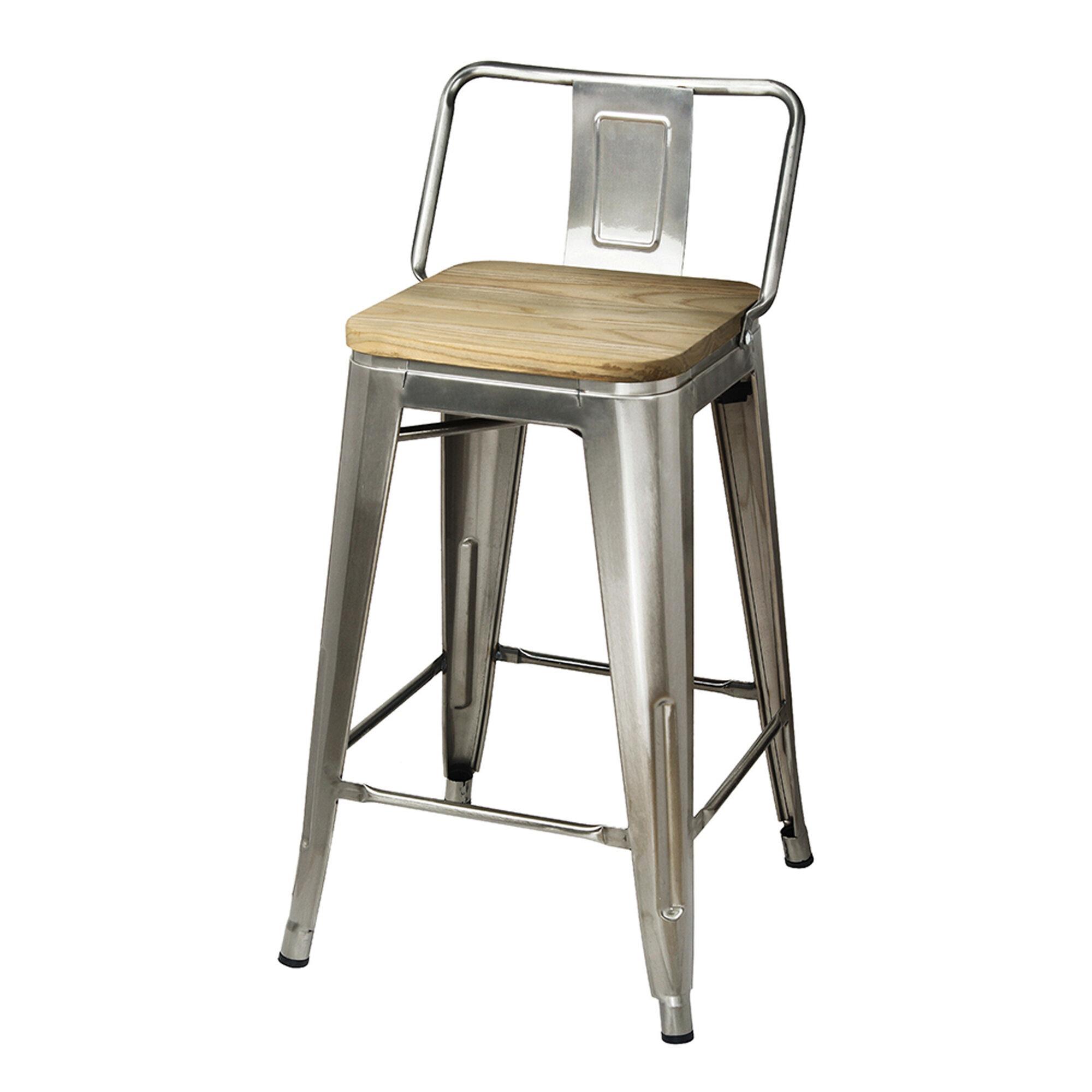 Sensational Mcraney 24 Bar Stool Beatyapartments Chair Design Images Beatyapartmentscom